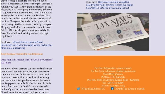 Tax News Round Up July 2020